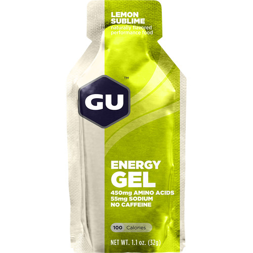 GU Energy Labs Gel (24-Pack, Lemon Sublime)