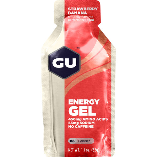 GU Energy Labs Gel (24-Pack, Strawberry Banana)