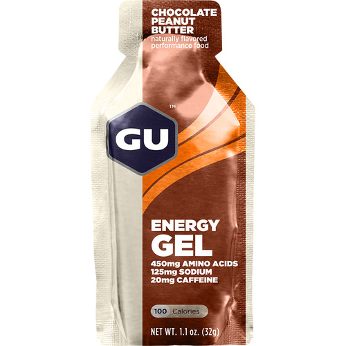 GU Energy Labs Gel (24-Pack, Chocolate Peanut Butter)