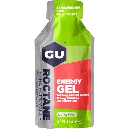 GU Energy Labs Roctane Energy Gel (24-Pack, Strawberry Kiwi)