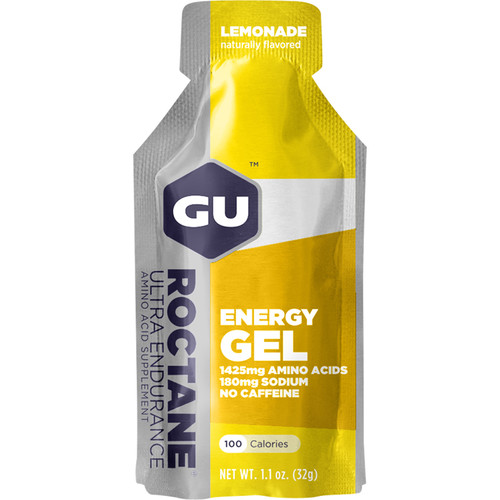 GU Energy Labs Roctane Energy Gel (24-Pack, Lemonade)