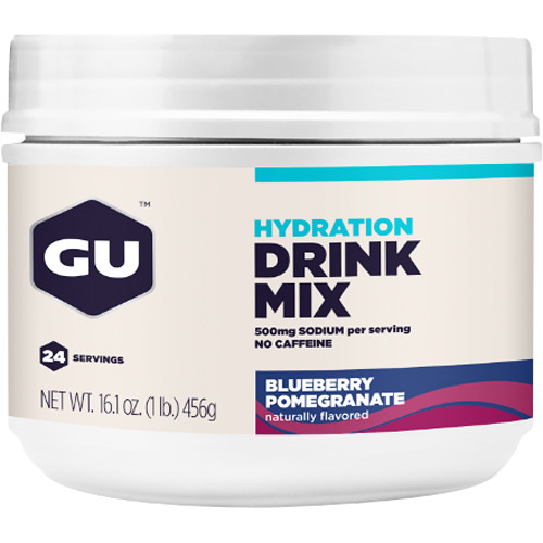 GU Energy Labs Blueberry Pomegranate Hydration Drink Mix (24 Servings)