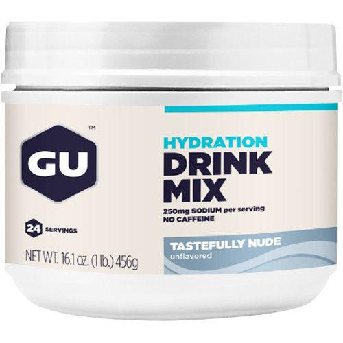 GU Energy Labs Tastefully Nude Hydration Drink Mix (24 Servings)