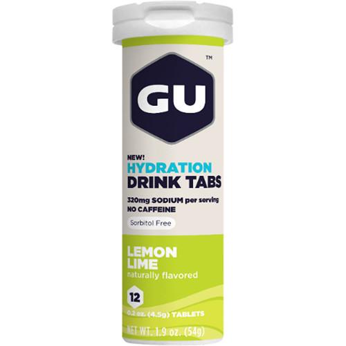 GU Energy Labs Hydration Drink Tabs (8-Pack, Lemon-Lime)