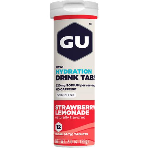 GU Energy Labs Hydration Drink Tabs (8-Pack, Strawberry Lemonade)