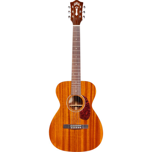 Guild Guitars M-120E Westerly Collection Concert Acoustic/Electric Guitar with Polyfoam Case (Natural)
