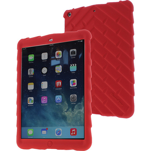 Gumdrop Cases Bounce Skin Case for iPad Air (Red)