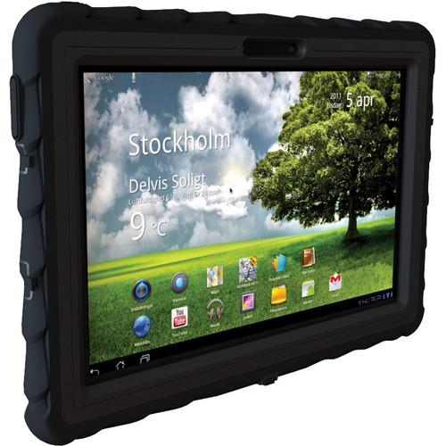 Gumdrop Cases Drop Tech Protective Case for the Asus Transformer Pad TF300 Tablet (Black/Black)