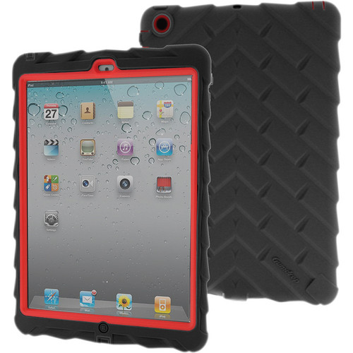 Gumdrop Cases Drop Series Case for iPad Air (Black/Red)