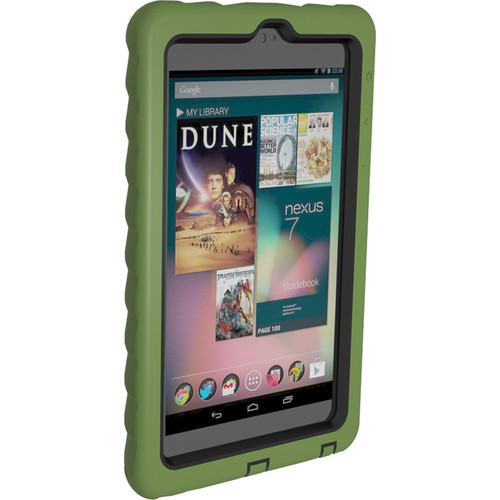 Gumdrop Cases Drop Tech Protective Case for the Google Nexus 7 Tablet (Army Green)