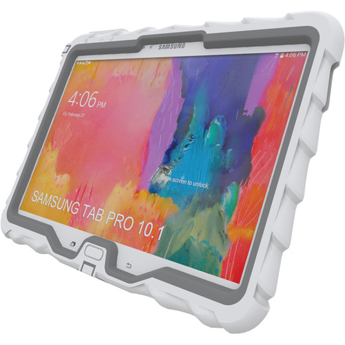 "Gumdrop Cases Hideaway Case for Samsung Galaxy Tab Pro 10.1"" (White/Gray)"