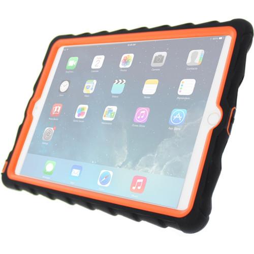 Gumdrop Cases Hideaway Case for iPad Air 2 (Black, Orange)