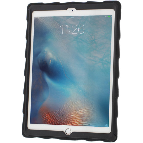 """Gumdrop Cases DropTech Clear Case for iPad Pro 9.7"""" & Air 2 (Black/Smoke)"""
