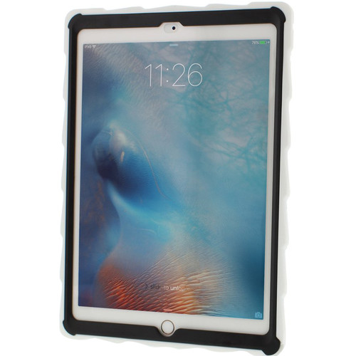 "Gumdrop Cases DropTech Clear Case for iPad Pro 9.7"" & Air 2 (White/Blue)"