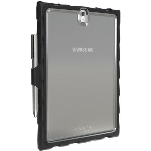 Gumdrop Cases DropTech Case for Samsung Galaxy Tab S3 (Clear, Black)