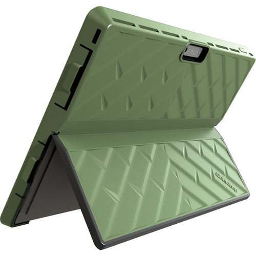 Gumdrop Cases Glass Tech Case for Microsoft Surface 3 (Army Green)