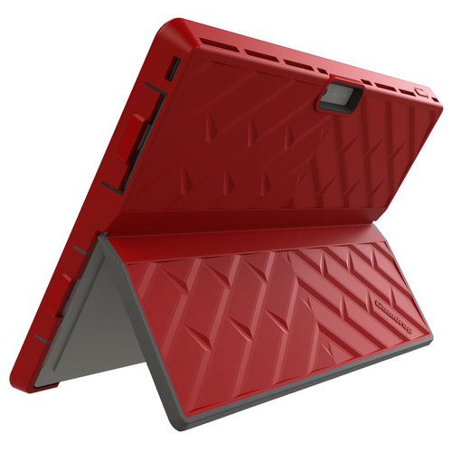 Gumdrop Cases Glass Tech Case for Microsoft Surface 3 (Red)