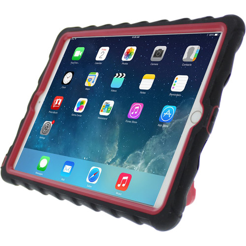 Gumdrop Cases Hideaway Case for iPad Air 2 (Black, Red)