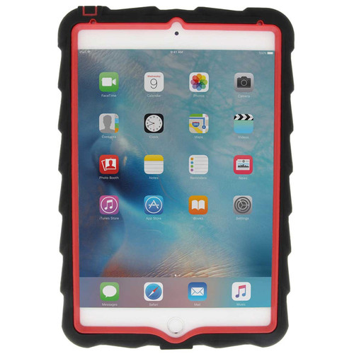 Gumdrop Cases Hideaway Case for iPad Mini 4 (Black/Red)
