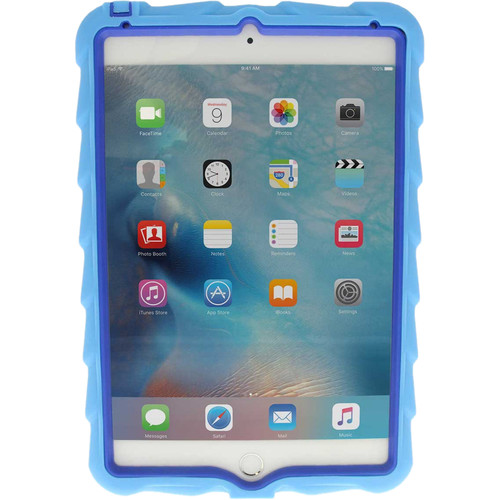 Gumdrop Cases Hideaway Case for iPad Mini 4 (Light Blue/Royal Blue)