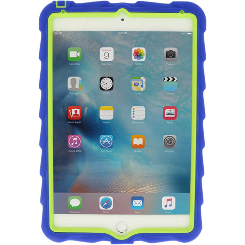 Gumdrop Cases Hideaway Case for iPad Mini 4 (Royal Blue/Lime)