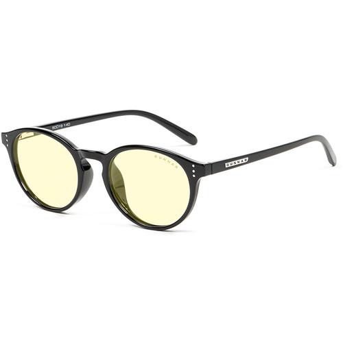 GUNNAR Attaché Computer Glasses (Onyx Frame, Amber Lens Tint)