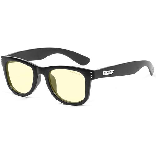 GUNNAR Axial Computer Glasses (Onyx Frame, Amber Lens Tint)