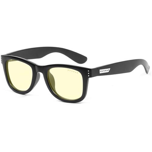GUNNAR Axial Computer Glasses (Onyx Frame, Amber-React Lens Tint)
