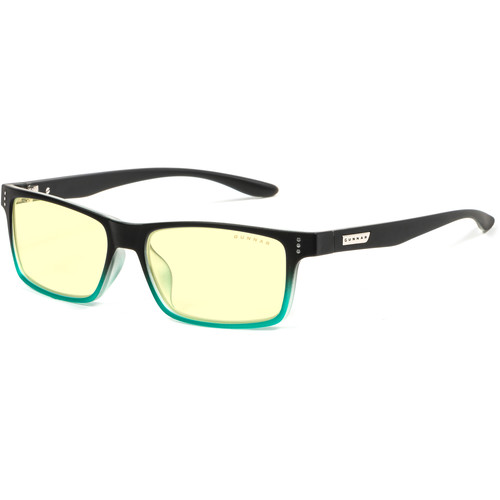 GUNNAR Cruz Computer Glasses (Onyx Teal Frame, Amber Lens)