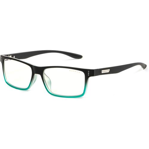 GUNNAR Cruz Computer Glasses (Onyx Teal Frame, Clear Lens)