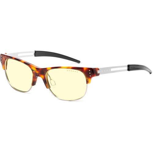 GUNNAR Cypher Computer Glasses (Tortoise Frame, Amber Lens Tint)