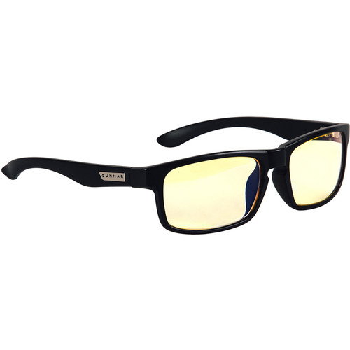 GUNNAR Enigma Computer Glasses (Onyx Frame, Amber Lens Tint)