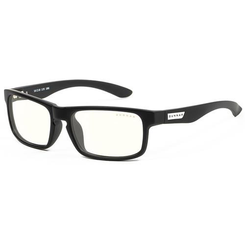 GUNNAR Enigma Gaming Glasses (Onyx Frame, Clear Lens Tint)