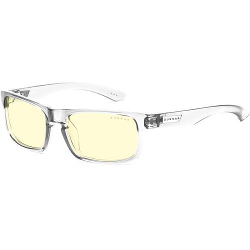 GUNNAR Enigma Gaming Glasses (Void Frame, Amber Lens Tint)