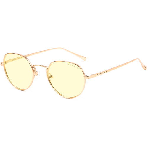 GUNNAR Infinite Computer Glasses (Gold Frame, Amber-React Lens Tint)