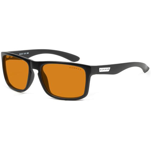 GUNNAR Intercept Gaming Glasses (Onyx Frame, Amber Max Lens Tint)