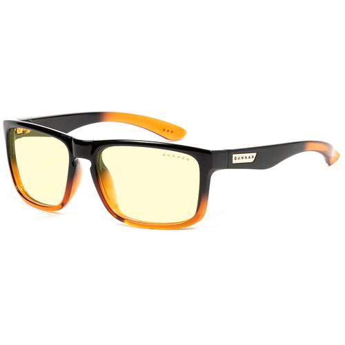 GUNNAR Intercept 24K Gaming Glasses (Dark Ale Frame, Amber Lens Tint)