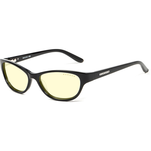 GUNNAR Jewel Computer Glasses (Onyx Frame, Amber Lens Tint)