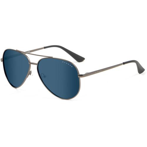 GUNNAR Maverick Computer Glasses (Gunmetal Frame, Sun Lens Tint)