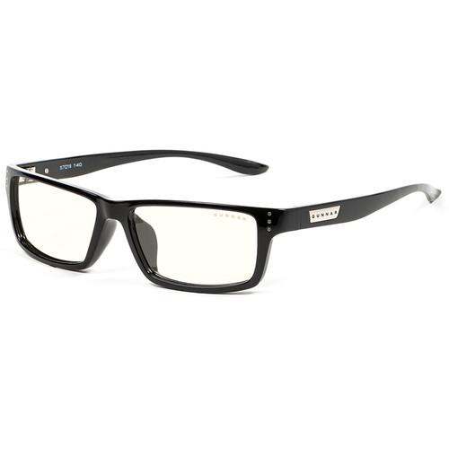 GUNNAR Riot Computer Glasses (Onyx Frame, Clear Lens Tint)