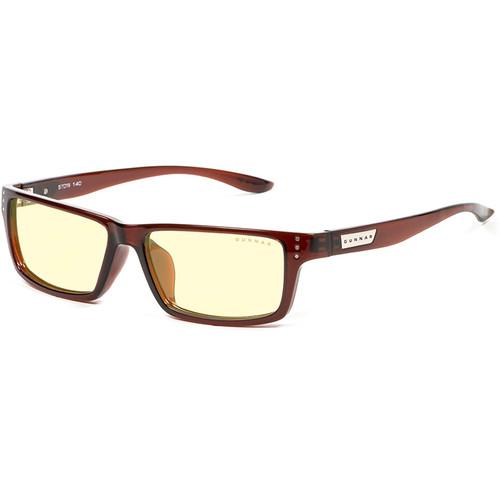 GUNNAR Riot Computer Glasses (Espresso Frame, Amber Lens Tint)