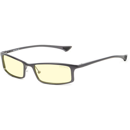 GUNNAR Phenom Computer Glasses (Graphite Frame, Amber Lens Tint)