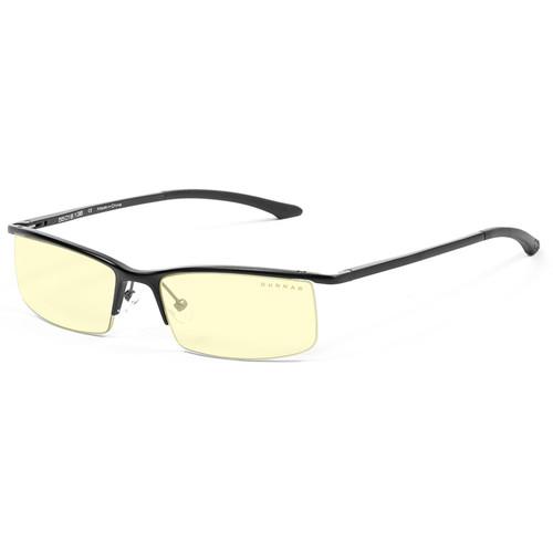 GUNNAR Emissary Computer Glasses (Onyx Frame, Amber Lens Tint)