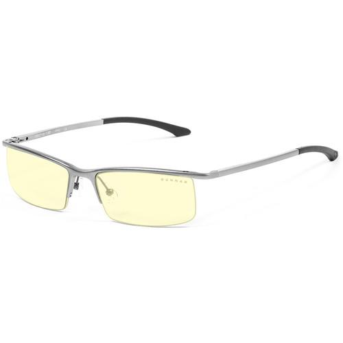 GUNNAR Emissary Computer Glasses (Mercury Frame, Amber Lens Tint)