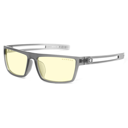 GUNNAR Valve Gaming Glasses (Smoke Frame, Amber Lens Tint)