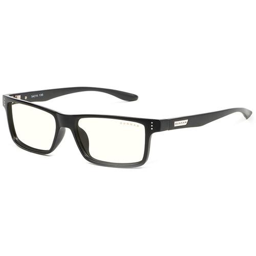 GUNNAR Vertex Gaming Glasses (Onyx Frame, Clear Lens Tint)