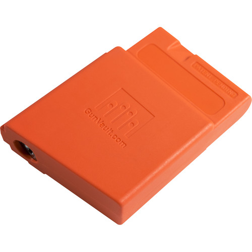 GunVault AR MagVault Rifle Magazine Lock (Orange)