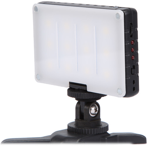 GVB Gear Compact Daylight On-Camera Light with Built-In Battery