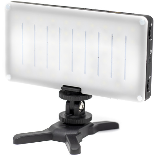 GVB Gear PL60 Pocket-Sized On-Camera Light with USB Charging/Power (Daylight)