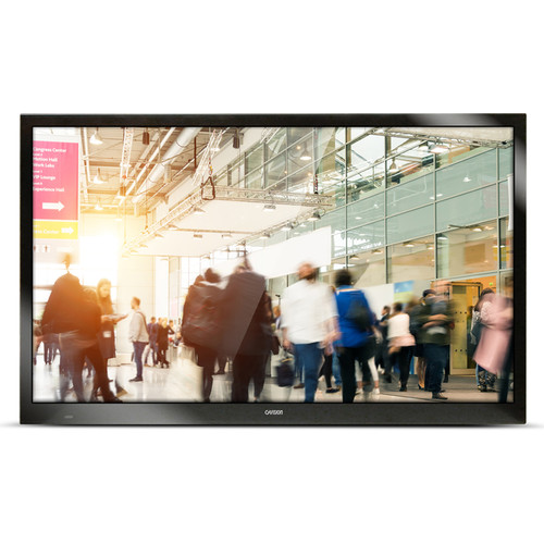 """GVision USA 55"""" 4K 40-Point Multi-Touch Projected Capacitive Touch Screen Monitor (Silver)"""